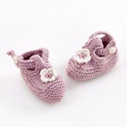 Pebble Child Rag doll - Organic Pink Shoes