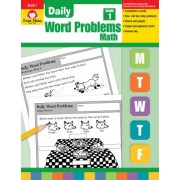 Daily Word Problems, Grade 1 Math by Evan-Moor Educational Publishers
