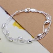Bratara eleganta argint cu bilute