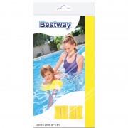 Gele zwembandjes opblaasbaar 20 cm