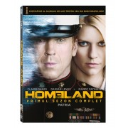 Homeland:Claire Danes,Damian Lewis,Mnady Patinkin - Homeland:primul sezon complet (4DVD)
