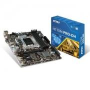 Carte mre H170M PRO-DH - Micro ATX Socket 1151 Intel H170 Express - SATA 6Gb/s + SATA Express - USB 3.1 - 1x PCI-Express 3.0 16x