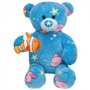 Build-a-Bear Workshop 16 in. Deep Blue Sea Teddy Bear