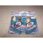 WWF 2 Tuff 1 Goldust and Marlena by Jakks Pacific 1998