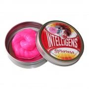 Intelligens gyurma, pink alapszín