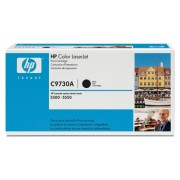 Original HP C9730A Toner (black, approx. 13,000 pages) for Color Laserjet 5500, 5550