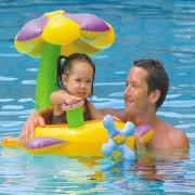 Bote Inflável Infantil BabyBote com Cobertura Intex 56580 - 142 cm x 80 cm
