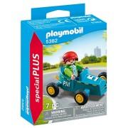 Playmobil SpecialPlus Boy with Go-Kart - sets de juguetes (Car & racing, Niño/niña, Multicolor, De plástico)