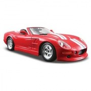 Maisto Die Cast 1:24 Scale Red 1999 Shelby Series One