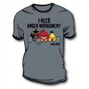 Tricou Angry Birds Anger Management Xl