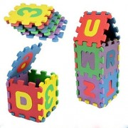 Imported and new Unisex Mini Children Puzzles Kid Toys Educational 3D Puzzle Alphabet A-Z Letters Numeral Soft Foam Mat