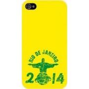 Skin Muvit Apple iPhone 4 4S Rio de Janeiro Yellow