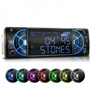 "XOMAX ""XOMAX XM-RSU234 FlashXO USB SD Autoradio ohne CD-Laufwerk mit 7 Beleuchtungsfarben"""