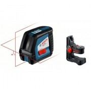 BOSCH Niveau Laser Croix Gll 2-50 + Support Bm 1