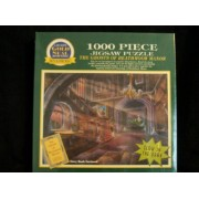Gold Seal 1000 Piece Jigzaw Puzzle Mystery Glowing Ghostly Images