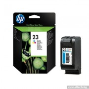 HP 23 Large Tri-color Inkjet Print Cartridge (C1823D)