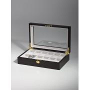Rothenschild Ceas cutie RS-1087-12E pentru 12 Ceasuri abanos