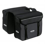 Norco Ottawa Zweifachtasche schwarz/grau Gepäckträgertaschen