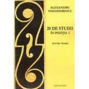 20 de studii in pozitia I pentru vioara - Alexandru Theodorescu