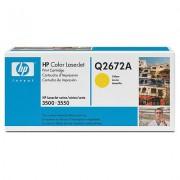 Toner HP Q2672A (Galben)