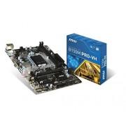 MSI b150M vH lGA1151 max pRO - 32GB mATX socket