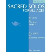 Sacred Solos for All Ages - Medium Voice by Joan Frey Boytim