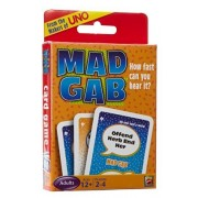 Mad Gab Picto-Gabs Deciphering Card Game by Mattel