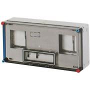 Hensel Basic, 600x300x185mm, 2db 1 fázisú mérőnek, IP65 (HB11KF)