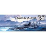 Hawk's fly model 1/700 German Navy U-Boat Type VII B U-47 (2 vessels entering) (japan import)