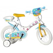 Dino Bikes 154 NL-PIG - Peppa Pig Bicicletta, 14 Pollici