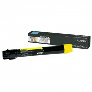 LEXMARK Cartridge for X950, X952, X954, Yellow, Extra High Yield - 22000k (X950X2YG)