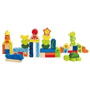 Hape - Early Explorer - Under the Sea Wooden Stacking Blocks