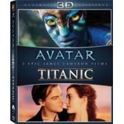 Avatar + Titanic Box Set 3D 6 Discuri