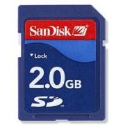 SanDisk 2GB Class 4 SD Flash Memory Card- SDSDB-002G-B35 (Label May Change)