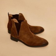 River Island Tan suede chelsea boots