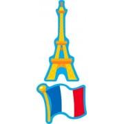 Amusement en Francais (Perfume) Mixed Shape Stinky Stickers-Mixed Shapes