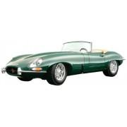 Bburago 12046g - Jaguar E Cabriolet (1961), Vert, 1:18