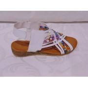 Sandale inflorate din piele naturala - Prego - 411