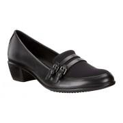 Pantofi eleganti dama ECCO Touch cu catarama (Negri)