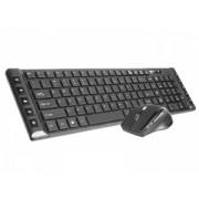 Kit Wireless Tastatura + Mouse Tracer Octavia II USB Negru
