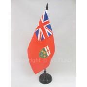 Drapeau De Table Ontario 21x14cm - Petit Drapeaux De Bureau Canadien - Canada 14 X 21 Cm