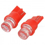 High Powered LED Vehicle Signal Lights 2-Pack (12V T8 Red)