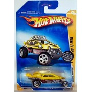 2009 Hot Wheels 020/190 Dune It Up Yellow 1:64 by Mattel