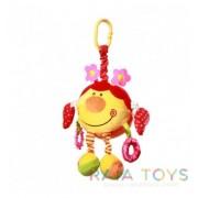 Плюшена бебешка играчка калинка Babyono 1184