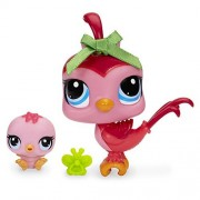 Littlest Pet Shop Bird and Baby Bird Figure Set