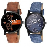 Coolado CL-4143 Combo Of 02 Watches For Men's