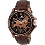 Armado AR-082 Bold Brown Analog Watch-For Men