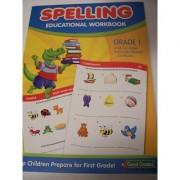 Good Grades Educational Workbook ~ Spelling (Grade 1) (Alligator Cover; 2012)