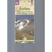 Carte Randonnée Et Patrimoine / Ecrins -Massif Et Parc National -Grandes Rousses -Cerces / N°05 -Donnée Ign, Compatibles Gps