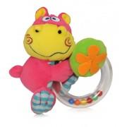Lorelli Toys Coloria Csörgő karika - Vízilovas / hippo 0903-H